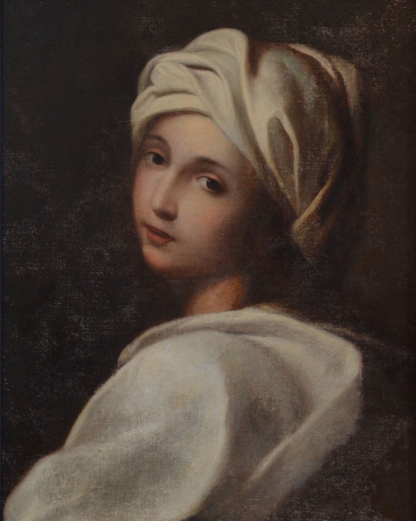 Beatrice Cenci after overpaint removal