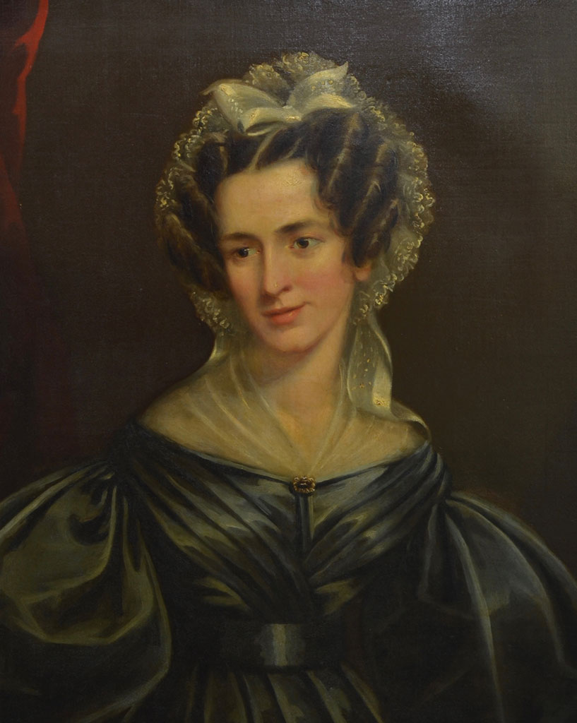 Jane Mather portrait after treatment