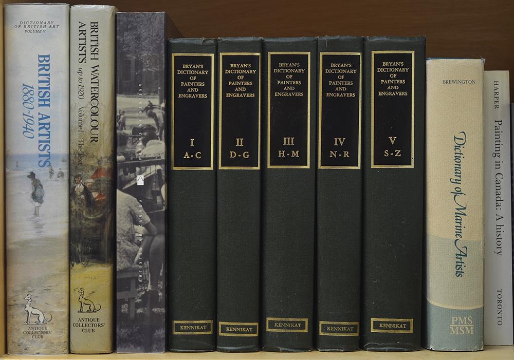 Artist dictionaries